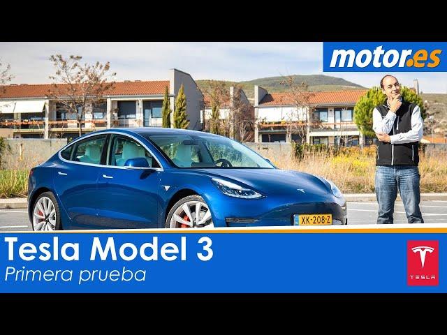 Tesla Model 3 | Prueba / Testdrive / Review en Español | Coche eléctrico
