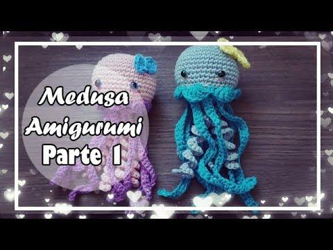 Medusa Amigurumi Crochet stuffed jellyfish stuffed octopus | Etsy | 360x480