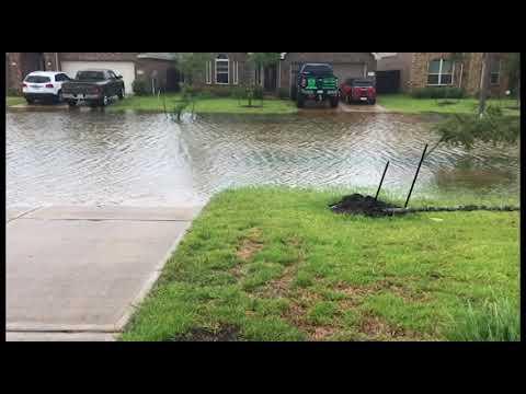 Hurricane Harvey Flooding Dickinson/League City, TX