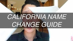 HOW TO LEGALLY CHANGE YOUR NAME IN CALIFORNIA (PRO PER) [CC]