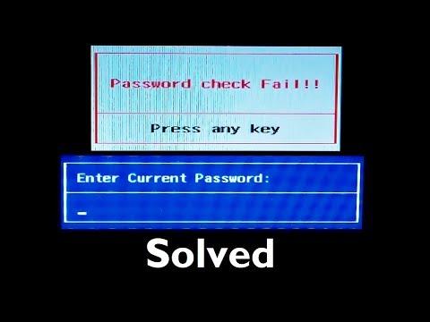 How to Remove Bios Password on Laptop (Easy Tutorial)
