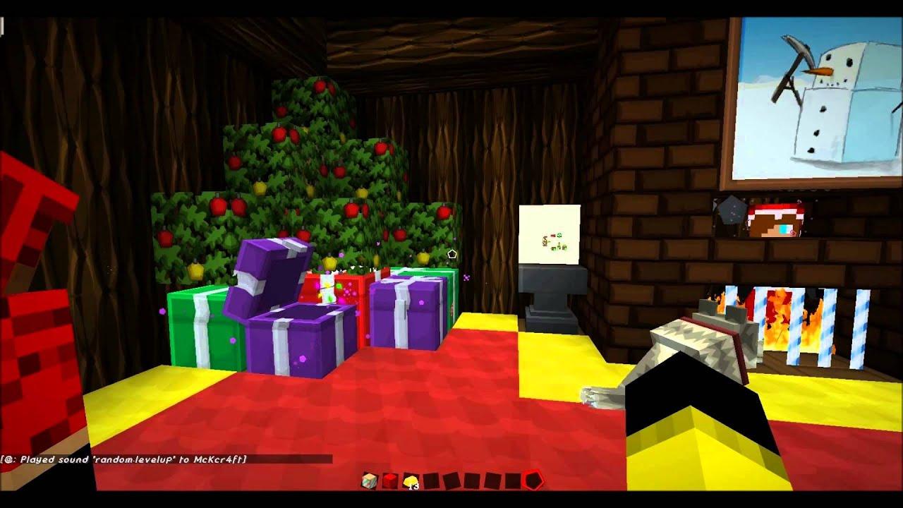 minecraft christmas server - YouTube