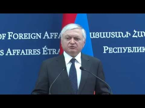 Joint press conference of Foreign Ministers of Armenia and Moldova
