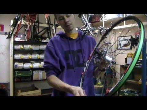 Как исправить восьмерку на велосипеде