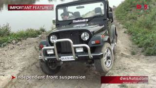 Mahindra Thar road test and video review - Mahindra Thar 4x4 for a detailed review off-road