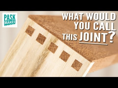 How to Make this Strong Alternative Dovetail Joint