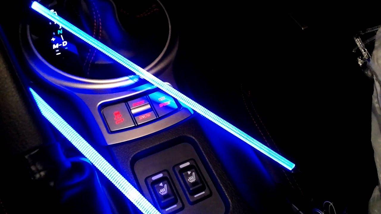 Hd Led Footwell Lights In Scion Fr S Monogram 2014