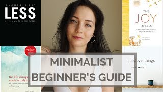 MINIMALIST BEGINNER'S RESOURCE GUIDE | MINIMALISM BOOKS, YOUTUBERS, BLOGS, ETC.