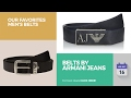 Belts By Armani Jeans Our Favorites Men's Belts