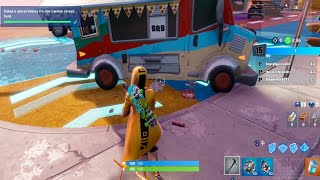 DANZA O USA UN'EMOTE FRA DUE CAMION STREET FOOD FORTNITE