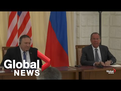 Mike Pompeo, Sergey Lavrov hold joint press conference in Russia