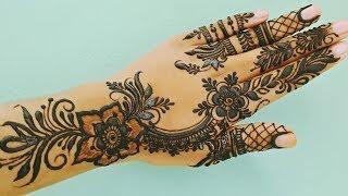 Mehndi Design for Upper Hand - Shimmi