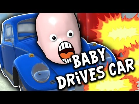 SquiddyPlays - BABY DRIVES CAR?! - Who's Your Daddy!