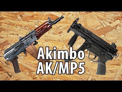[Payday 2] Akimbo AK/MP5 SMGs