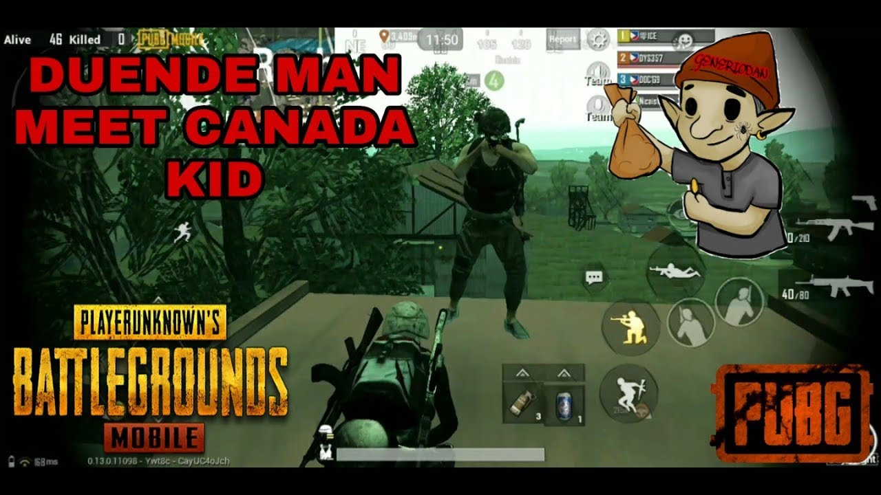 PUBG MOBILE / FUNNY VOICE / CUTE VOICE KID FROM CANADA