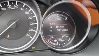 Mazda cx-5 2017 обзор интерьера