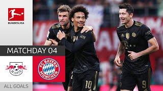 Bayern Too Strong! | RB Leipzig - Bayern München 1-4 | All Goals | Matchday 4 – Bundesliga 2021/22