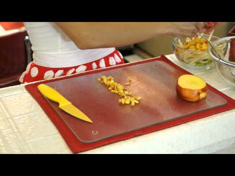 HNGN's Daniela Ameruoso Demonstrates How to Make A Stuffed Cantalope Summer Dish
