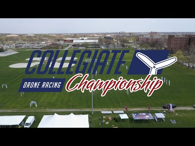 2017 Collegiate Drone Racing Championship Elimination Race 1-6