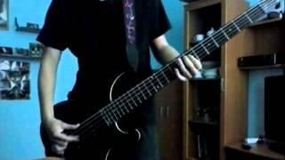Iron Maiden - Paschendale (Bass cover)