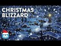 Blizzard Wind Sounds - Christmas Snowstorm