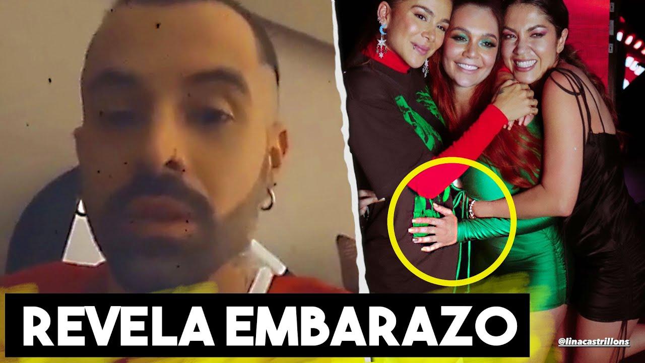 Lina Tejeiro Revelaría Embarazo De Greeicy Rendon, Esta Es Toda La Verdad.