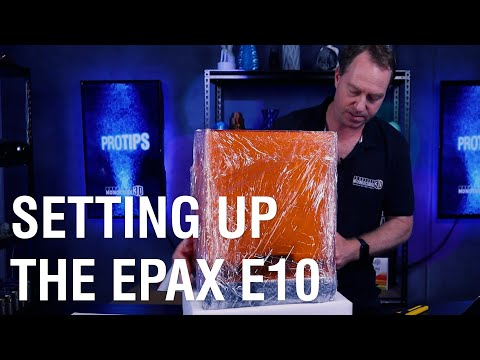 Setting up the Epax E10