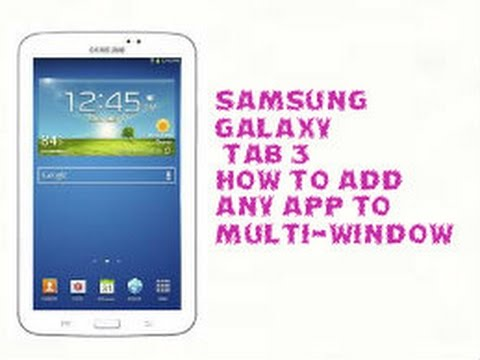 how to delete apps on samsung galaxy tab 4