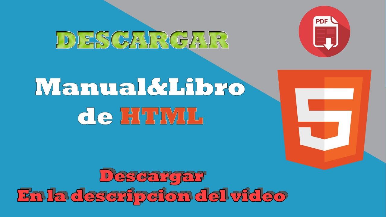 descargar manual de html 2016 con ejercicios completo youtube rh youtube com descargar manual html pdf gratis descargar manual html pdf gratis