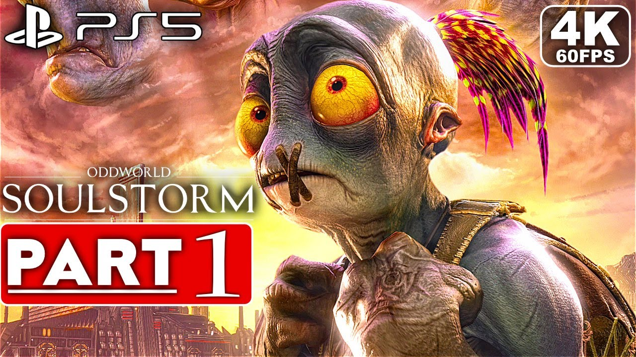 Download ODDWORLD SOULSTORM PS5 Gameplay Walkthrough Part 1 [4K 60FPS] - No Commentary (FULL GAME)