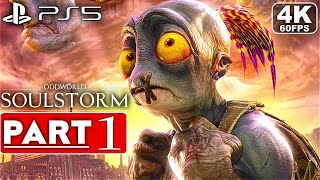 ODDWORLD SOULSTORM PS5 Gameplay Walkthrough Part 1 [4K 60FPS] - No Commentary (FULL GAME)