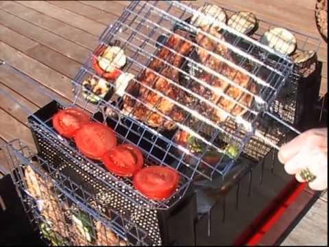 Barbecue VERTICAL BBQ NORDIQ - YouTube