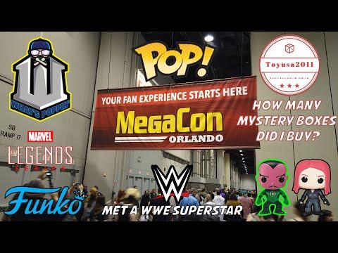 Funko Pop Hunting Megacon Orlando and ToyUsa Mystery Boxes