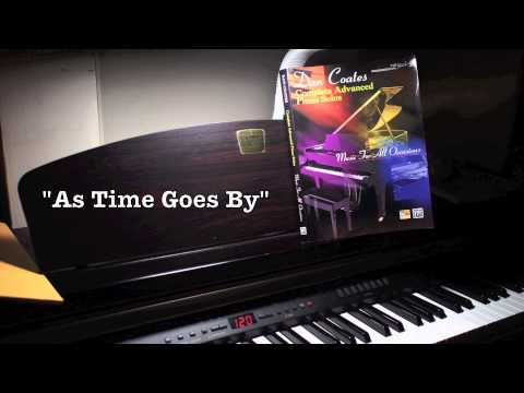 As Time Goes  Herman Hupfeld arr Dan Coates  piano  HD