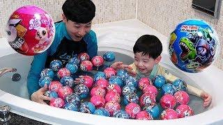 5 서프라이즈 볼 1개에 5개의 장난감이 들어있어요! 5 Surprise Ball 장난감 놀이 뉴욕이랑놀자 NY Toys