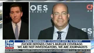 "Glenn Greenwald UNLOADS on Jeff Zucker & CNN: ""They are Fraudsters"""