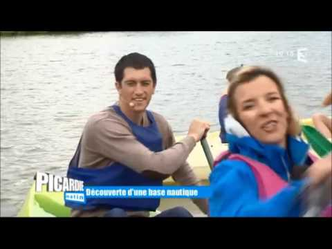 Reportage France 3 Picardie Matin - Base nautique de Loeuilly 2016