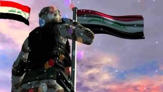 موسيقى نشيد موطني روووووووعة - النشيد العراقي - تصميم جديد