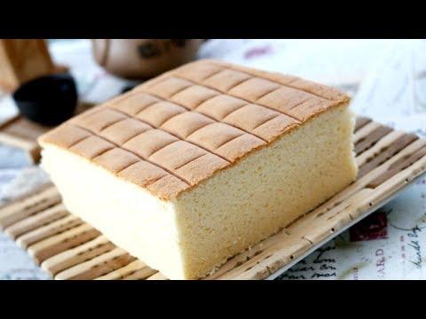 How to make really soft fluffy sponge cake