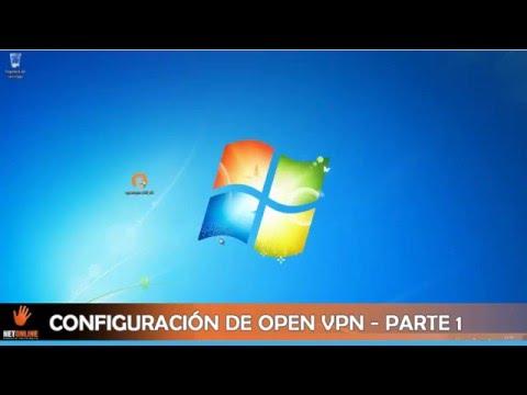 Configuracion OpenVpn Server Windows 7 Parte 1