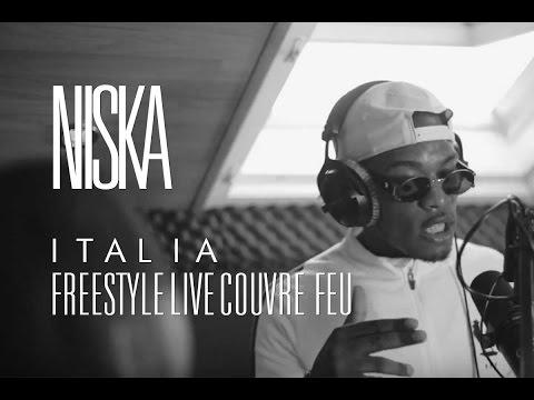 NISKA - Italia / Freestyle dans Couvre Feu sur OKLM Radio