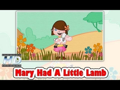 Mary Had A Little Lamb Nursery Rhyme || 3D Animation Rhymes For Children - KidsOne