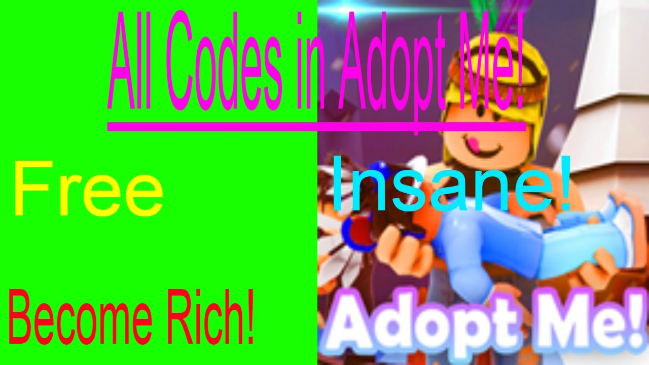 Roblox Adopt Me Codes 2017 All Insane Money Codes Roblox Adopt Me September 2017 Youtube