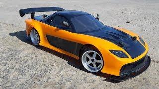 РАЗДАЛ УГЛА НА МАЗДЕ ИЗ ФОРСАЖ 3 - Jada Fast&Furious Drift Han's Mazda RX-7