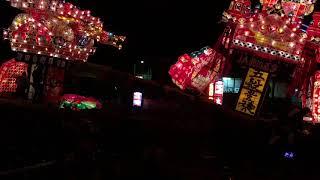 41回 北海道 沼田夜高あんどん祭り 壮絶な喧嘩あんどんですね。 威勢の...