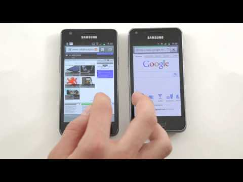 Samsung Galaxy S II Vs Samsung Galaxy S Advance
