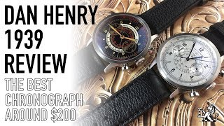 The Best Affordable Vintage Inspired Chronograph Around $200 - Dan Henry 1939 Review