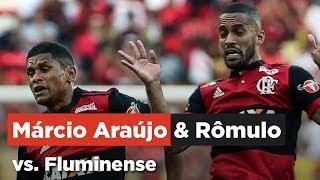 🔴⚫Márcio Araújo & Rômulo vs. Fluminense - 12/10/17   Melhores Momentos