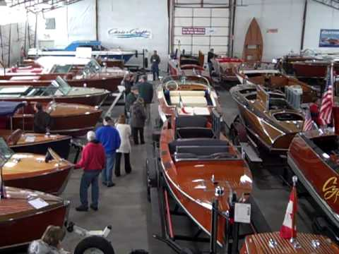 Antique Boat Center Showroom Video