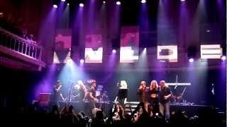 Kim Wilde sings Kids in America @ Paradiso 3 october 2012